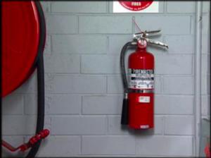 Locatie brandblusapparaat